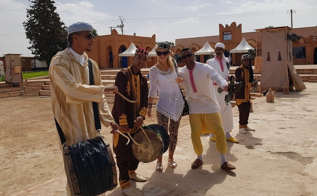 Taroudant, Morocco, people from Morocco playing music
