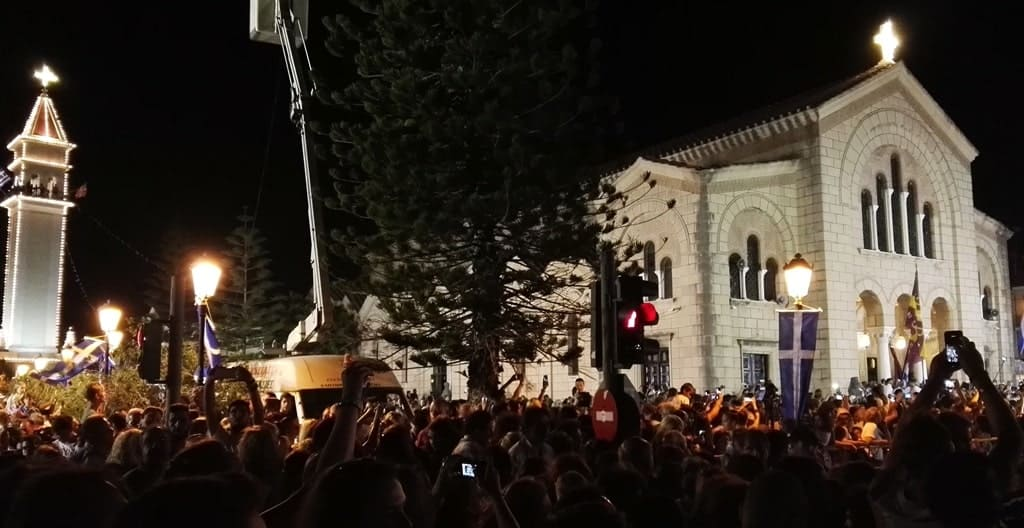 At the end of August, there is a 3-day celebration dedicated to St. Dionysios, Patron Saint of Zakynthos