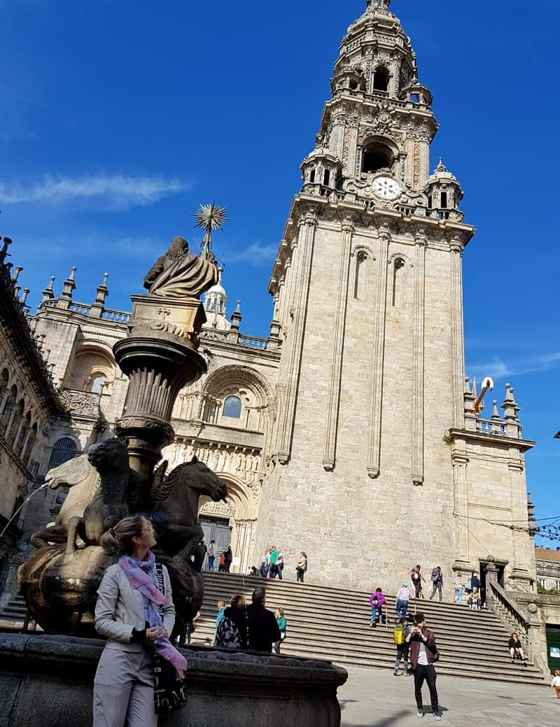 Santiago de Compostela Old Town takes you back to the Middle Ages