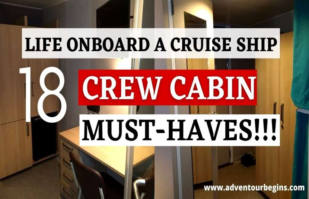 crew cabin must have items