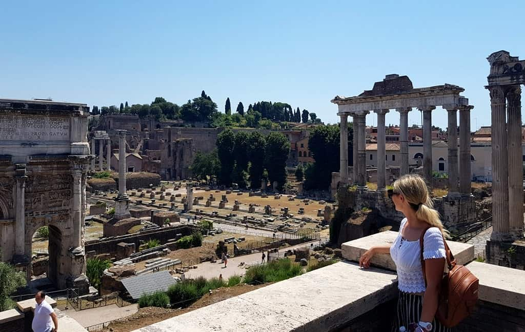 Roman Forum, the view from the Capitoline Hill