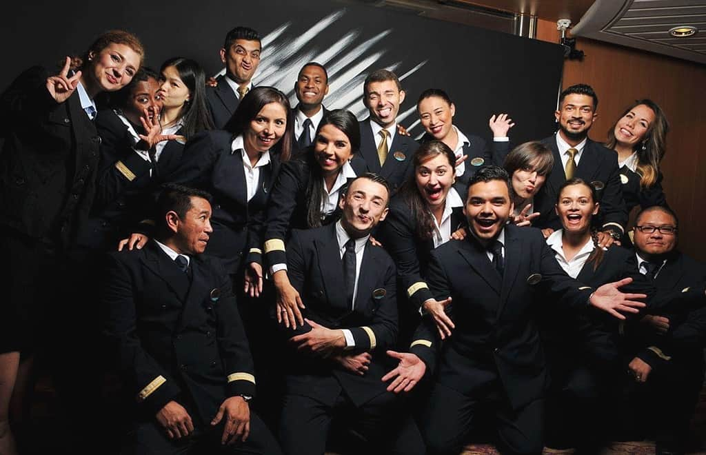 Guest Services Department onboard a cruise ship