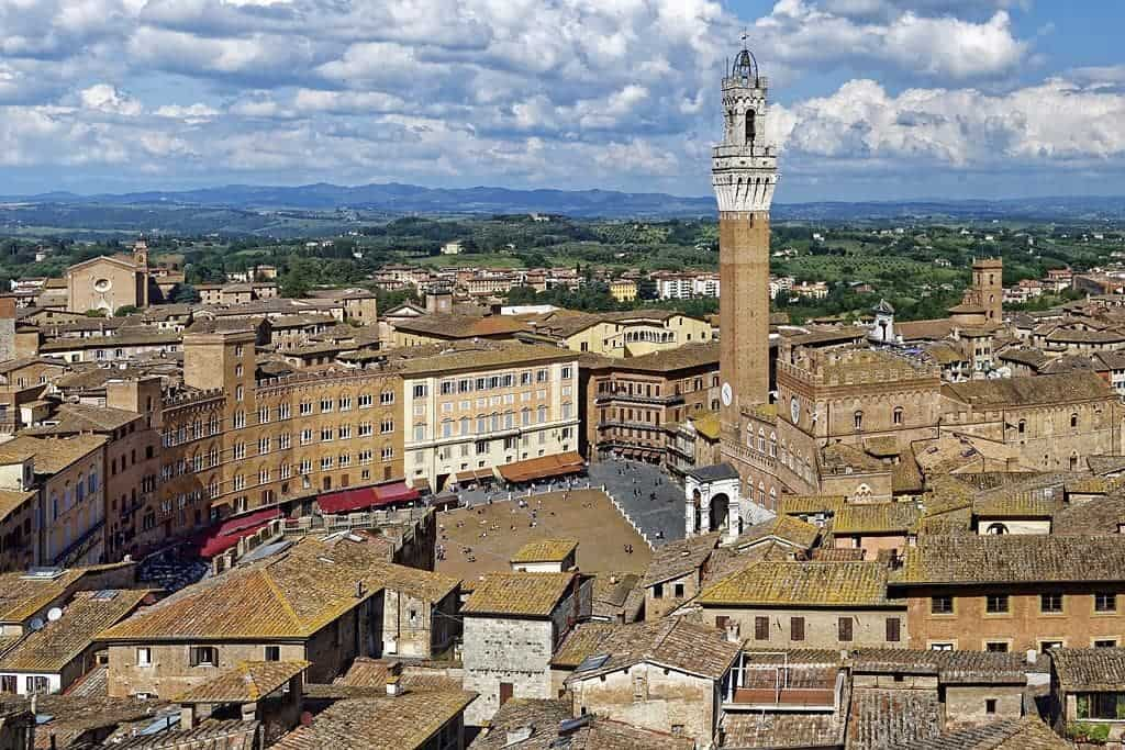 Siena - Campo Square and the Tower of Mangia