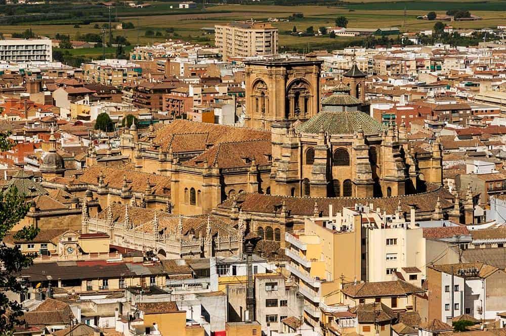 Granada panorama, Spain